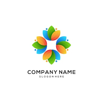 Icon logo natural