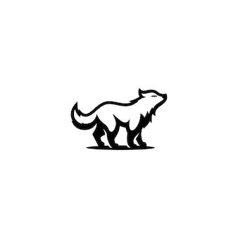 Icon logo wolf