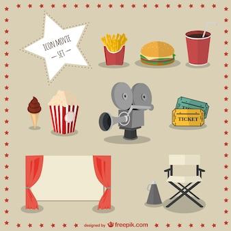 Icon movie set