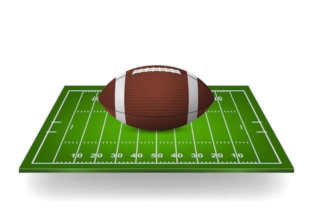 Икона футбола на поле.