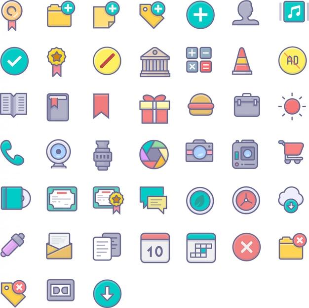 Пользовательский интерфейс icon pack