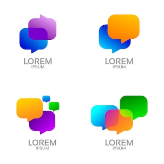 Icon set design message