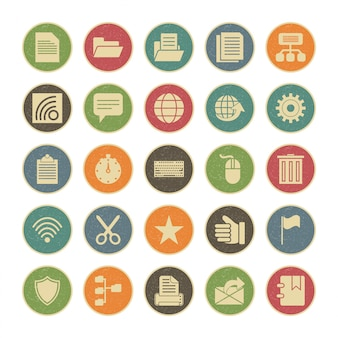 Icon set of web for personal and commercial use.