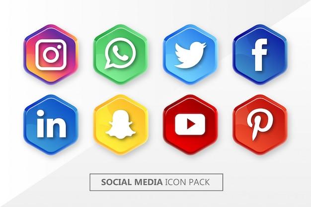 Icon social medias