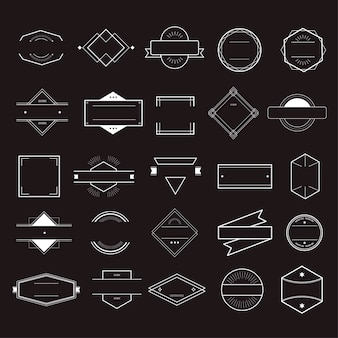 Icon Symbol Badge Logo Collection Concept
