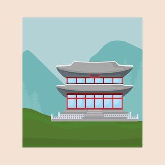 아이코닉 아시아 궁전 디자인