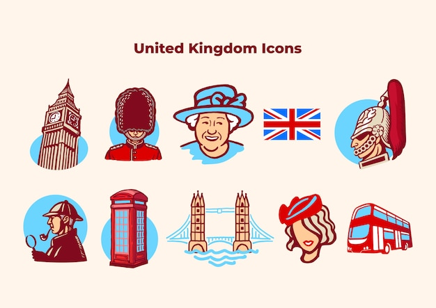 An iconic collection of british stuff