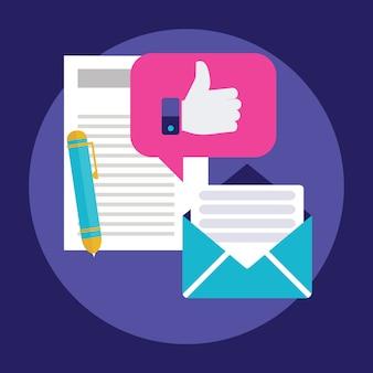 Иконки для поддержки информационного бюллетеня faq