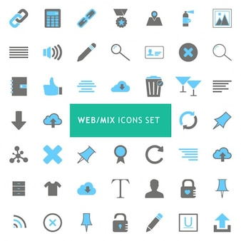 Icons for web pages