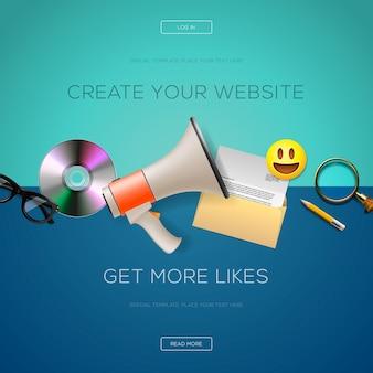 Иконки для веб-сайтов, шаблоны презентаций, инфографика, веб- и мобильные сервисы и приложения
