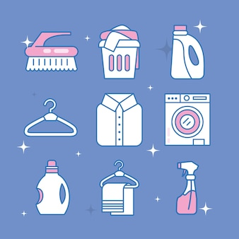 아이콘 세탁 서비스