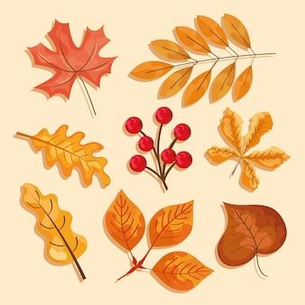 Иконы из осенних листьев