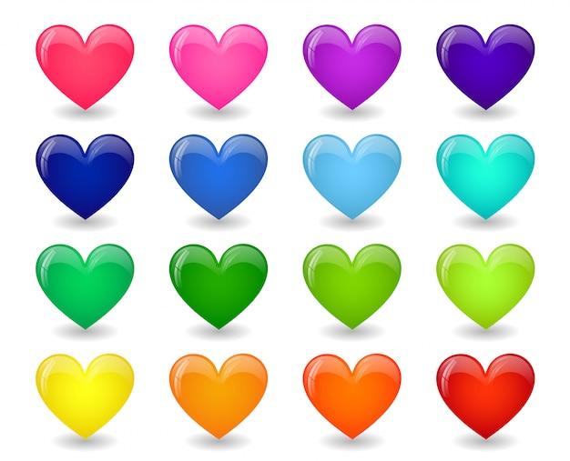Иконы сердец