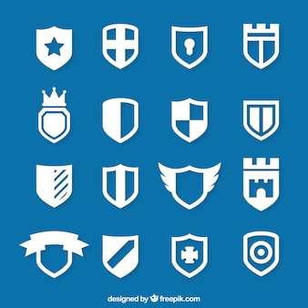 Icons of shield
