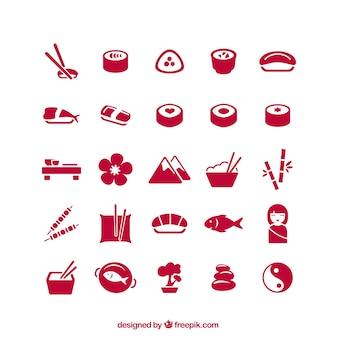 Япония icons pack