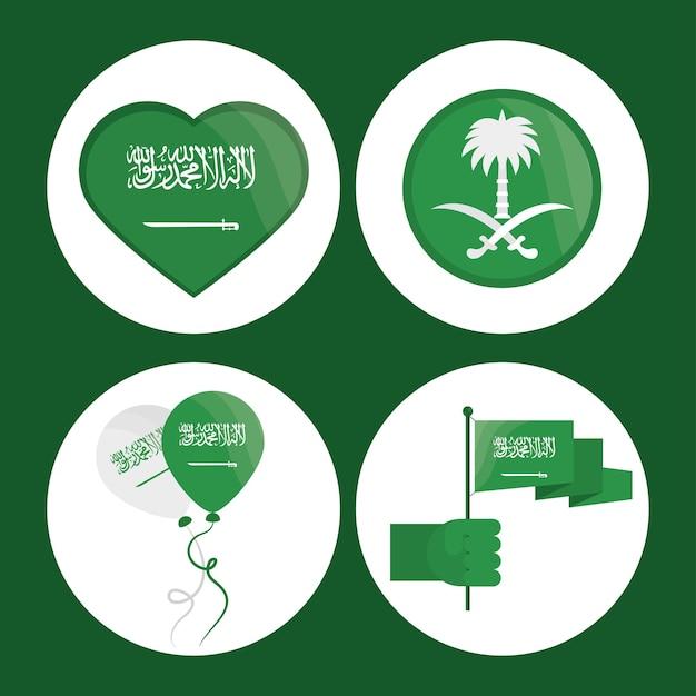 아이콘 설정 사우디 아라비아의 날
