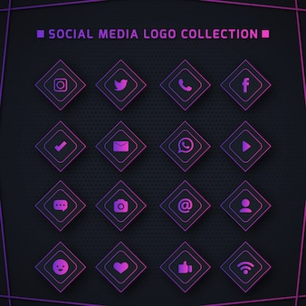 Icons for social networking