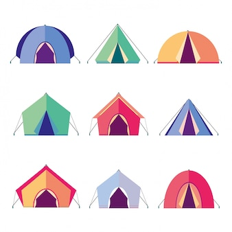 Icons tents