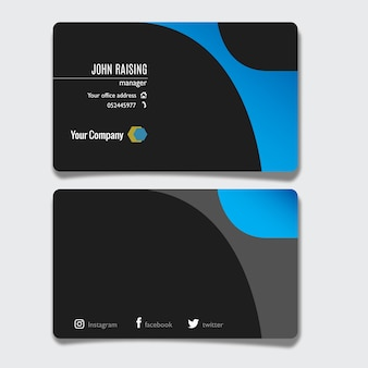 ID card for Business identity
