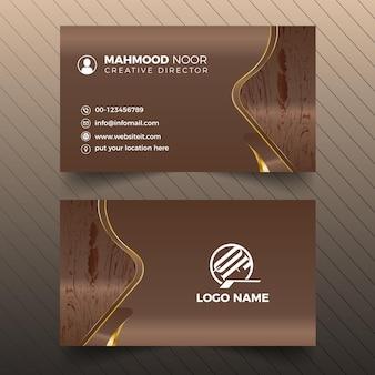 Id card illustration Premium Vector