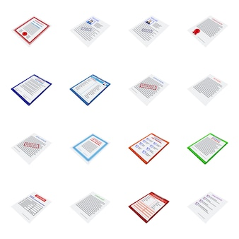 孤立したオブジェクトの企業および文房具のサイン。企業およびid銘柄記号を設定します。