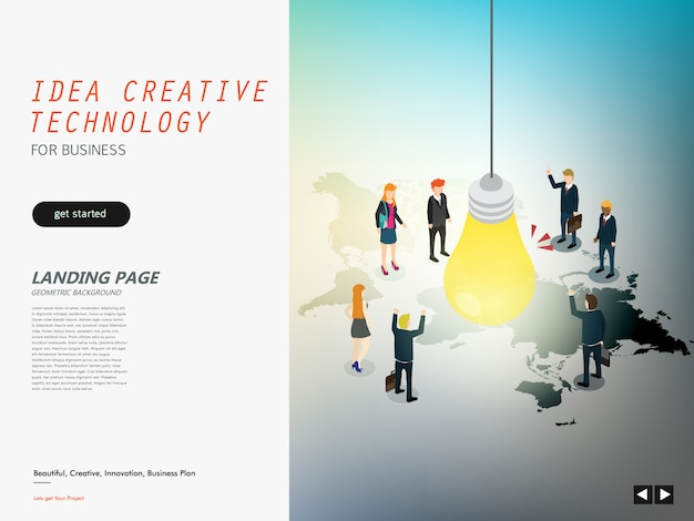 Idea creative design for business