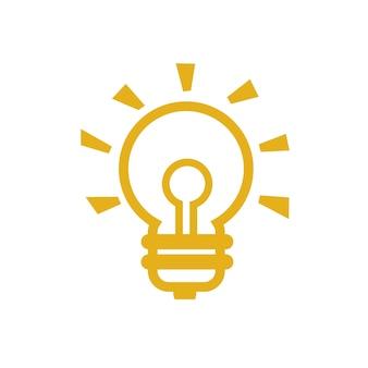 Idea icon simple vector