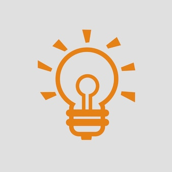 Idea icon simple