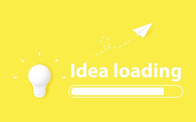 Ideas and creativity concept
