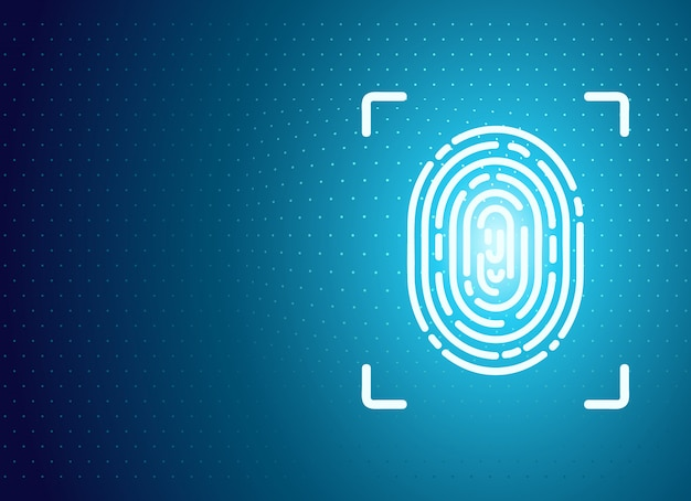 Identification fingerprint background