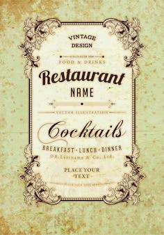 Identity business baroque element salads