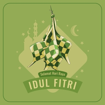 Idul fitri, ramadan celebration, traditional and religious