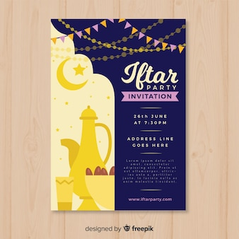Iftar invitation party