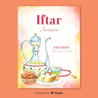 Iftar party invitation