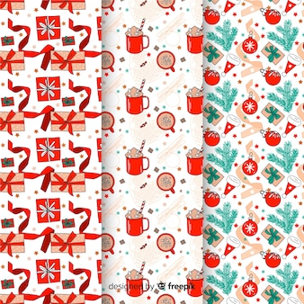 Ign christmas pattern set