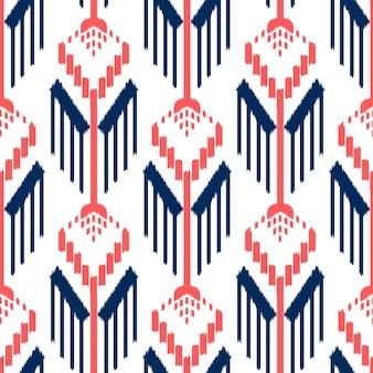 Ikat 원활한 패턴 디자인