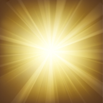 Illuminated gold light background