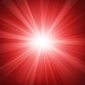 Illuminated red light background