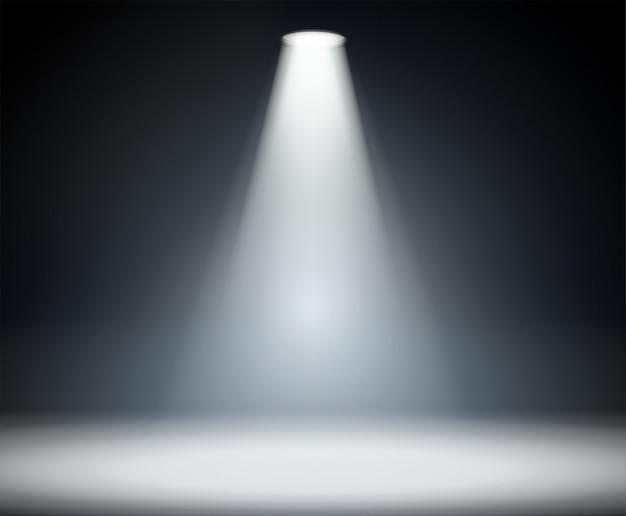 上からの照明