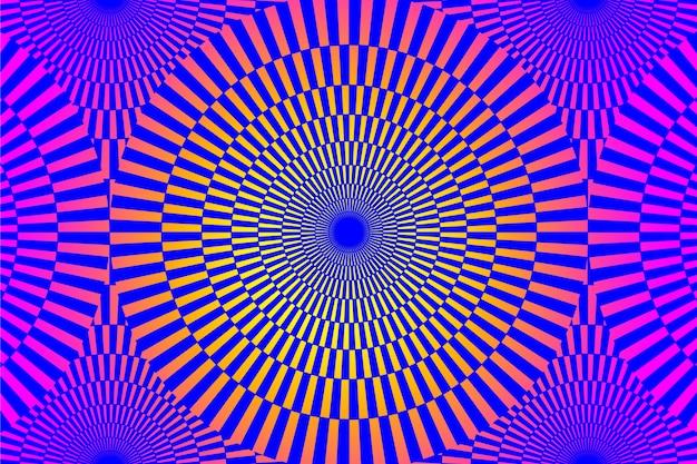 Иллюзия эффект фиолетового фона