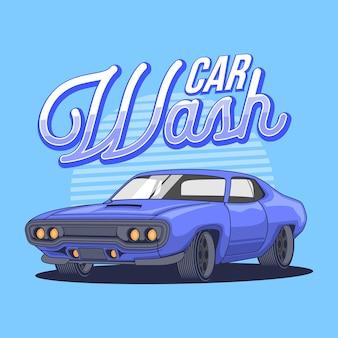Illustrastion carwash мышцы