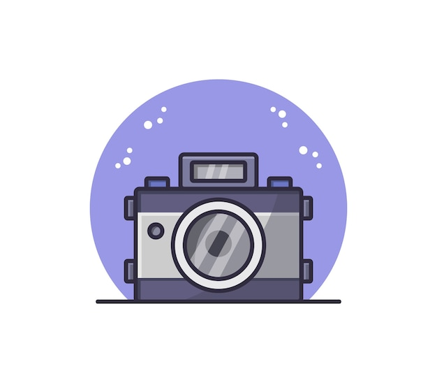 Illustrated camera