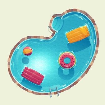 Иллюстрированный творческий бассейн