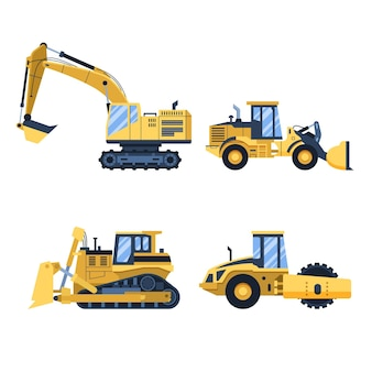 Illustrated excavators pack