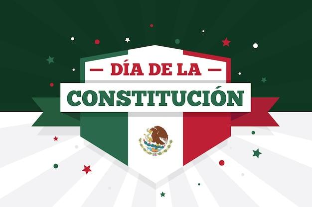 Иллюстрированные обои день конституции мексики