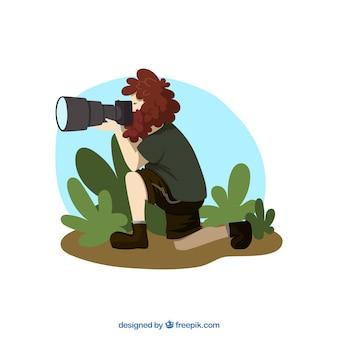 Illustrated paparazzi