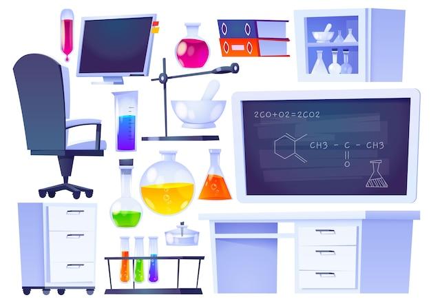 일러스트 과학 요소 컬렉션