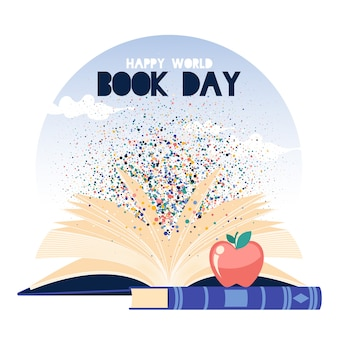 Illustrated world book day