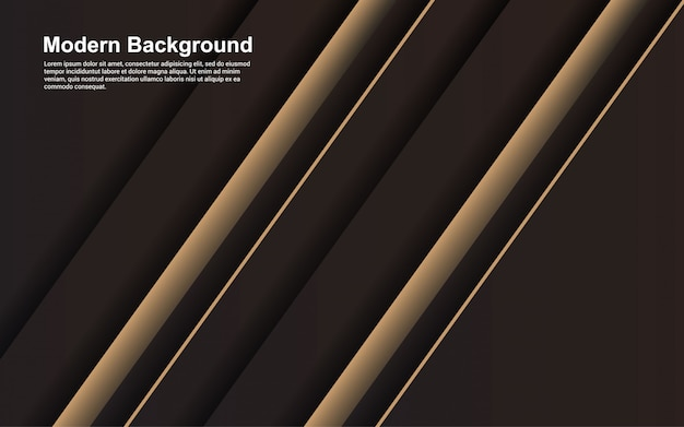 Illustration   of abstract background black and brown color