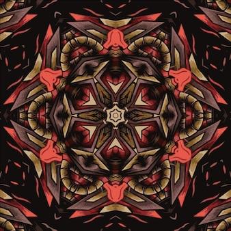 Иллюстрация абстрактный узор для текстиля и дизайна